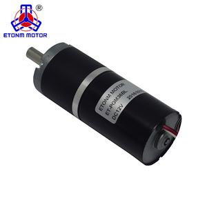 ETONM Micro 36mm 24v brushless dc electric motor 12v Planetary Brushless DC Gear Motor