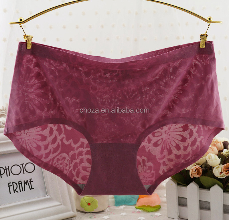 C71796A Sexy Lady Panty Young Girl Cotton Panty Seamless Underwear
