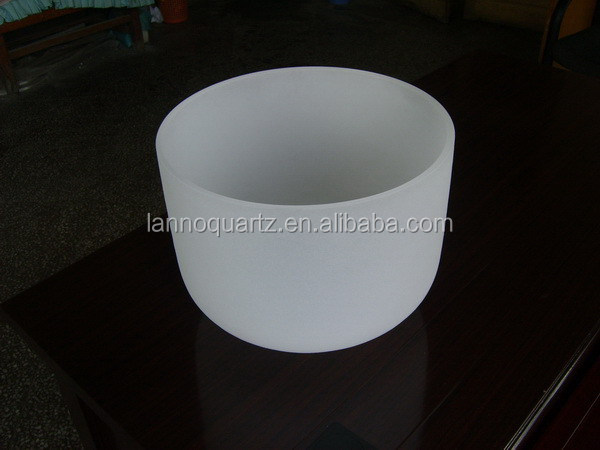 Best quality hot selling quartz crucible crystal singing bowl