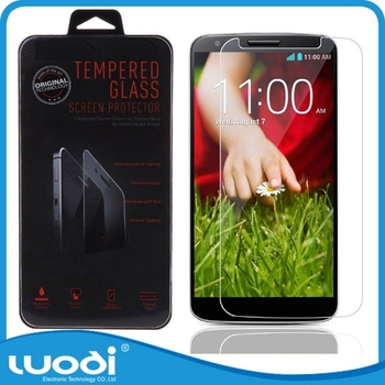 Factory Price Tempered Glass Screen Protector for LG G2