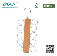 Betterall Ten Circles Wooden Scarve Hanger