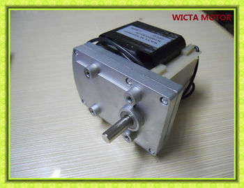 Electric motor with reduction gear view electric motor for Electric motor with gear reduction