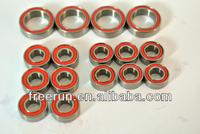 High Performance YOKOMO DRB HYPER SSG SPECIAL steel bearing kits with different rubber seal color