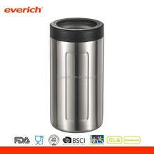 12oz /16oz vacuum insulated double wall stainless steel soda can holder