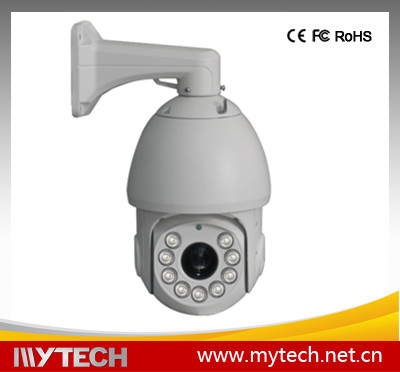 6 inch Outdoor IR high speed dome ptz camera with auto motion tracking cctv camera