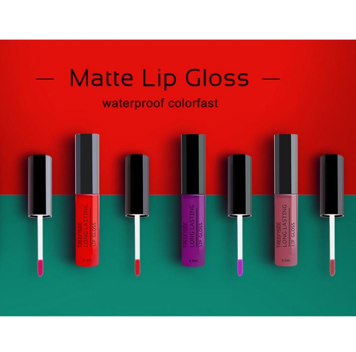Hot sale 30colors Long lasting Waterproof Matt Lip gloss/Liquid lipstick T1003