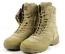 Mens Desert US Army Hiking Hunting Boot Tactical Military Combat Boots / Shoes