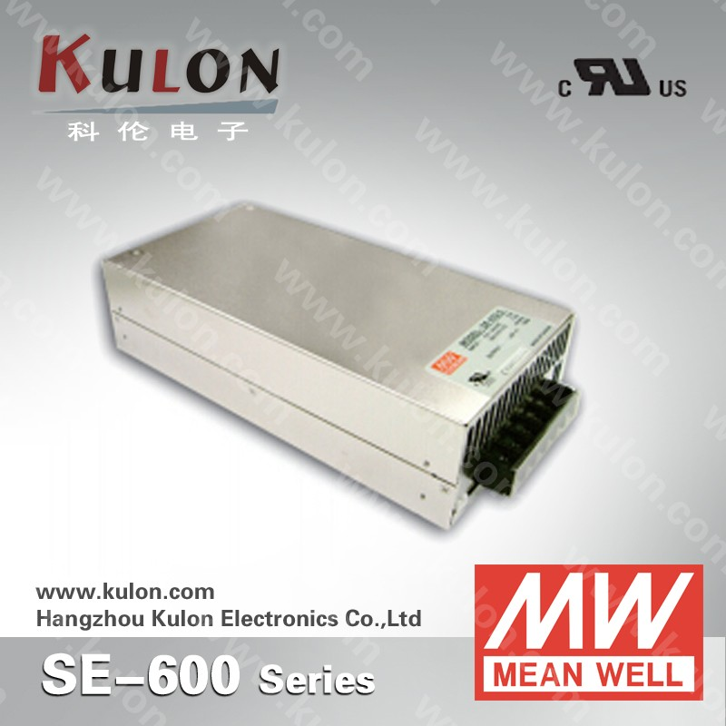MEAN WELL SE-600 single Output Power Supply 600W 24V Switching Power Supply