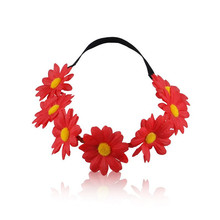 Wedding Hair Accessories Bridal Flower Crown Spring Summer Hair Wreath Flower Girl Halo