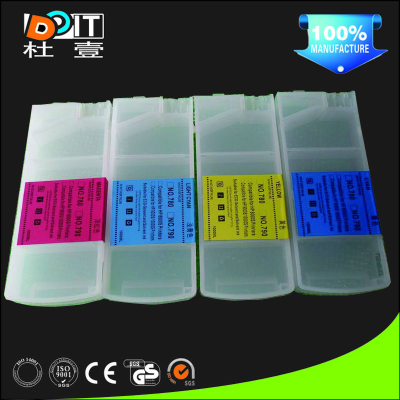 factory in Zhuhai Stable Printing Performance Eco-Solvent Ink For HP 8000S
