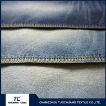 25KHz 98% cotton 2 % spandex jean fabric with good price