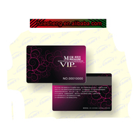 PVC smart card with /magentic stripe/signature panel/code