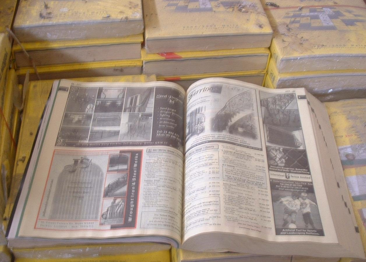 Yellow Pages Directories + Catalogs