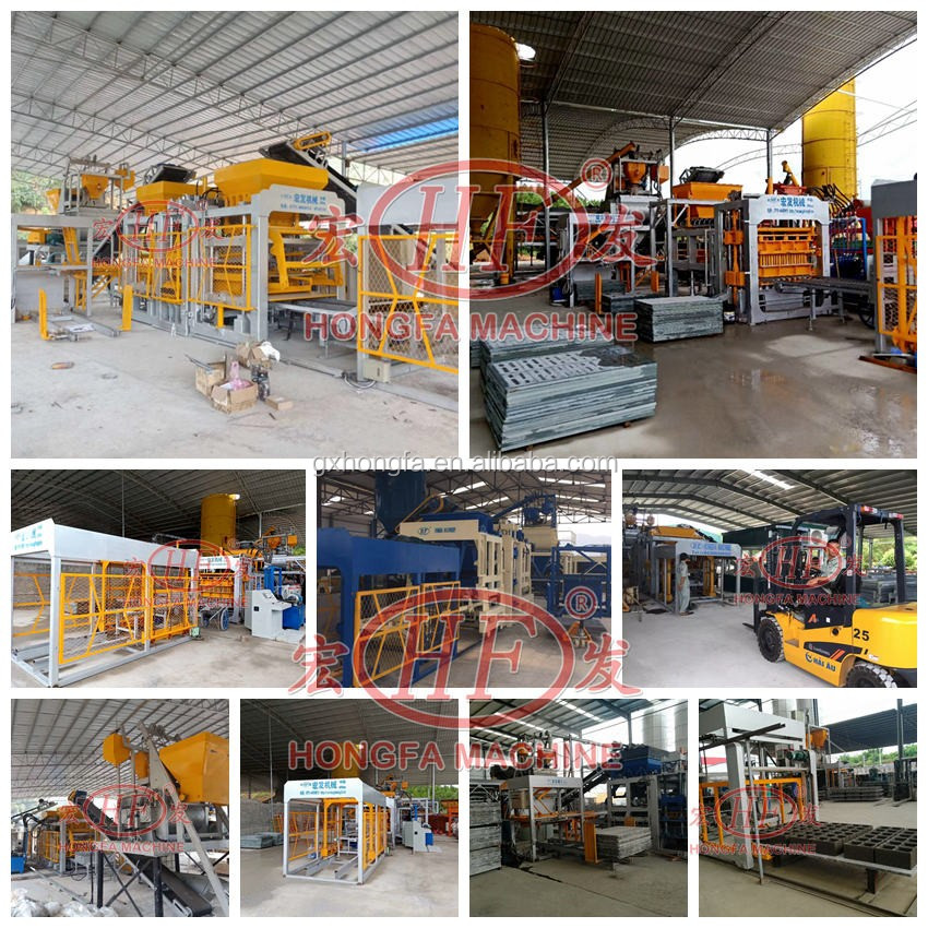auto hydraulic block making machine to make concrete block interlocking brick machine in kenya
