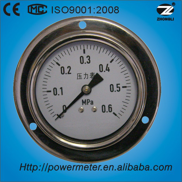 (YTN-60BD) 60mm flanged axial mount caliper gauge