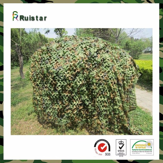 Army camouflage netting fabric