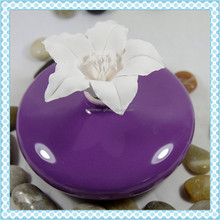 Home ceramic diffuser fragrance, decorative round bottle room diffuser