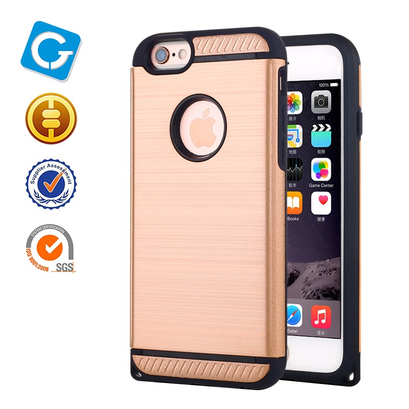High quality TPU+PC ,Non-toxic, eco-friendly material,No abnormal odourfor iPhone 6/6 plus