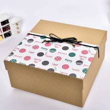 Big size hottest selling sushi box paper with bowknot