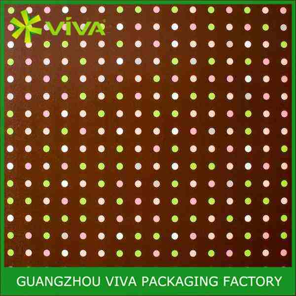 Brown Multi Dot Roll wrapping paper for soap
