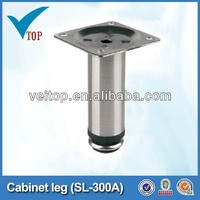 metal cabinet furniture leg cap