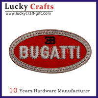High quality custom embroidery logo car patch