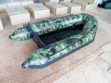 High Quality Folding Inflatable Boat PVC camouflage military inflatable boats for sale