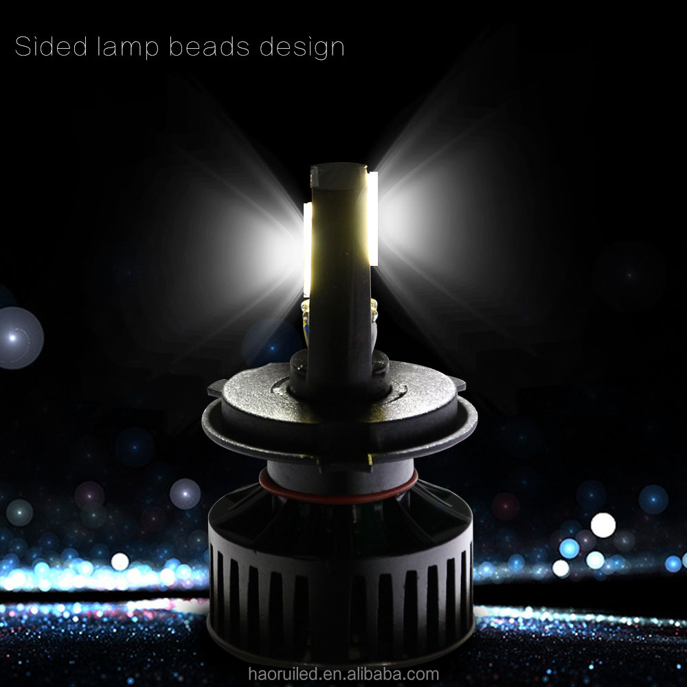 H4 Car led headlamp bulb for auto lighting system led motorcycle head light kit