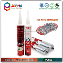 White Car Body Sheet Metal Welding Repair PU Joint Sealant