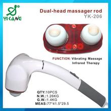 Alibaba Gold Suppies Electric Vibrating Nano Infared Neck Massager Tool 2015