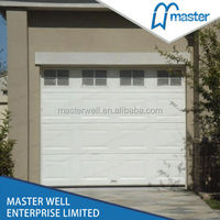 Modern steel sectional automatic garage door prices