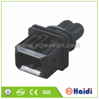 amp auto electric plastic connector plug 2-pin male connector 106462-1