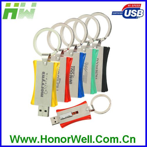 8GB OEM Promotional Key Chain Gift 2.0 USB Flash Drive