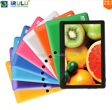 "IRULU eXpro X1pro 7"" Tablet PC 8GB Android Tablet Computer Quad Core Dual Camera External 3G WIFI with Keyboard Case 2015 Hot"
