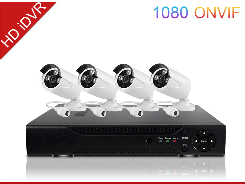 Network Video Recorders IP NVR 4 CH Wireless CCTV DVR Kit cheap security network IP NVR 4 CH POE CCTV NVR Kit