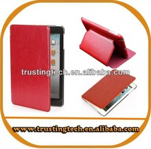 2014 Newest Colorful Genuine Leather Flip case for Tablet PC with stander