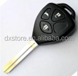 Hot sale 3 buttons car key blank for key toyota toyota key cover