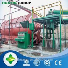 Q345R boiler plate oil extracting machine using waste plastic with CE certificate