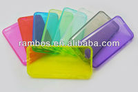 Solid Color TPU case for iPhone 5C New Arrival