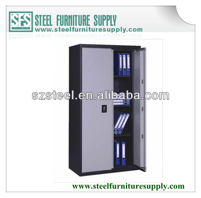 steel document storage cabinet, metal cupboard for office