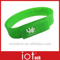 Free Sample Wrist Band USB Flash Drive