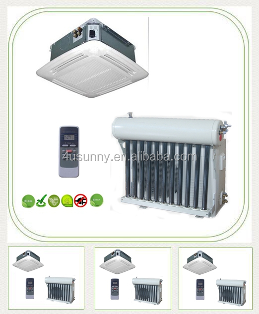 Lower Price Cassette Type Hybrid Solar Powered Air Conditioner AC Air Conditioning