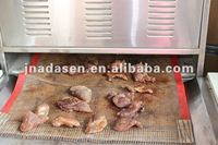 Beef jerky, mutton meat,meat dryer and sterilizer 50-500kg/h with CE certificate
