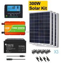 easy installation 300w portable solar panel kit