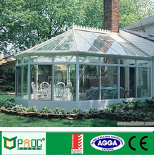 Sound Insulated Double Tempered Glazed Aluminium Glass Sunroom, Aluminum Conservatory
