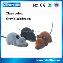 Plastic rc mouse toy for prank