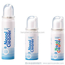 plastic nasal irrigation push clean rpediatric wholesale cleaner hygiene physiological nasal spray