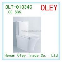 2017 hot sale WC Ceramic two piece toilet sanitary ware with high quality and factory price