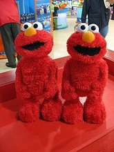 Sesame Street Tickle Me Elmo TMX Plush Toys