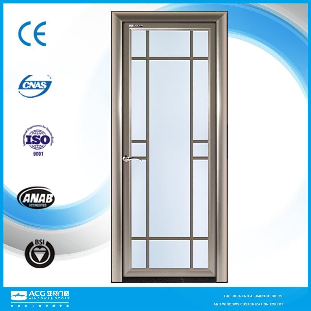 Soundproof Glass Interior Doors Modern Aluminum Door Designs For Houses Buy Aluminum Door